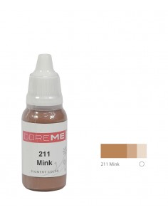 211 Mink liquid eyebrows pigment. Doreme pigment for permanent makeup.
