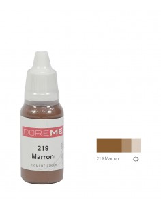 219 Marron liquid eyebrows pigment. Doreme pigment for permanent makeup.