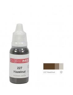 227 Hazelnut liquid eyebrows pigment. Doreme pigment for permanent makeup.