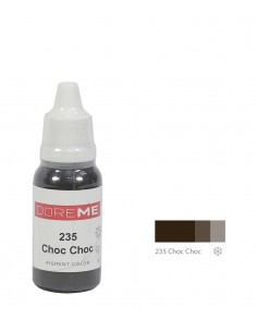 235 Choc Choc liquid eyebrows pigment. Doreme pigment for permanent makeup.