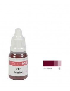 717 Merlot - organic Doreme lip pigment for permanent makeup.