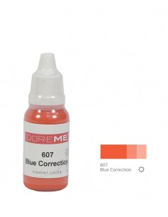 607 Blue Correction - Doreme correction pigment for permanent makeup.