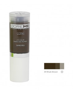 09 Khaki Brown - Doreme professional pigment for permanent makeup