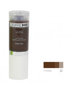17 Cocoa - Doreme professional pigment for permanent makeup.