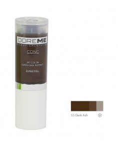 53 Dark Ash - Doreme professional pigment for permanent makeup.