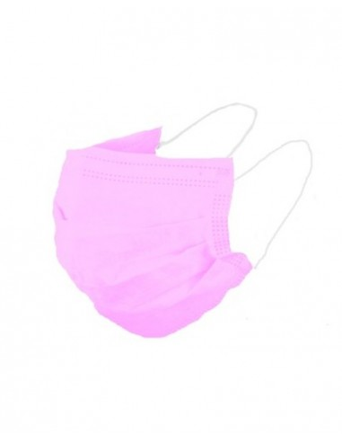 Face Masks Earloop Disposable Mask Medical Surgical 3PLY Pink