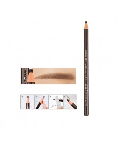 02 pencil - medium brown for permanent makeup. Permanent makeup products supplier.