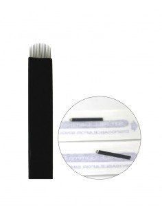 Microblading Blade Black 14U Pin for permanent makeup. Microblading product supplier in Ireland.