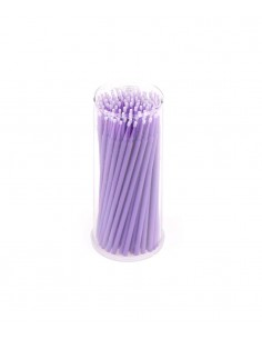 Disposable micro applicators - regular purple. Permanent makeup products in Ireland.
