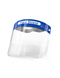 Face Shield for full face protection. PMU Shop - disposable products supplier.