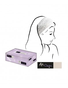 Hair non woven band - white. Permanent makeup product in Ireland.