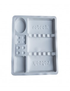 Disposable Standard Tray - White. Permanent make up product in Ireland.