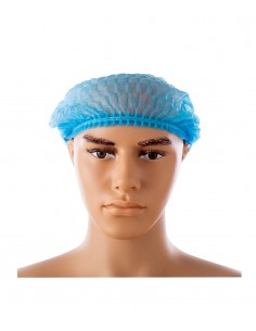 Hair non woven cap - blue. Permanent makeup product in Ireland.