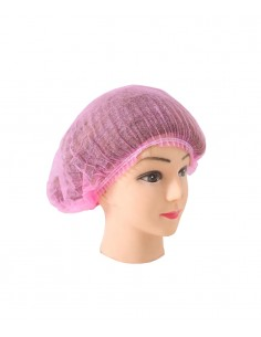 Hair non woven cap - pink. Permanent makeup product in Ireland.