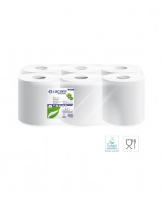 Lucart Eco 150 White - 852134. PMU Shop hygiene and beauty products supplier.