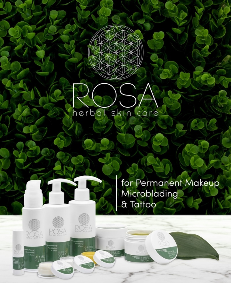 ROSA herbal skin care products Dublin Ireland