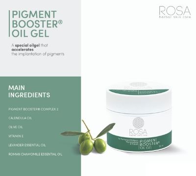 Rosa permanent makeup pigment booster gel Dublin Ireland